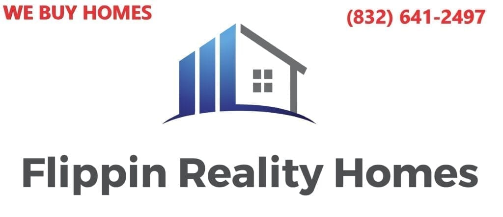 Selling a House with Flippin Reality Homes Logo with Contact number